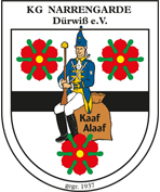 Wappen K.G. Narrengarde Dürwiss e.V.